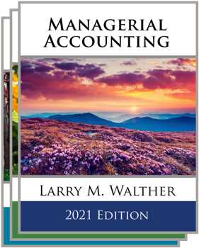Managerial Accounting Textbook Bundle 2021 Edition