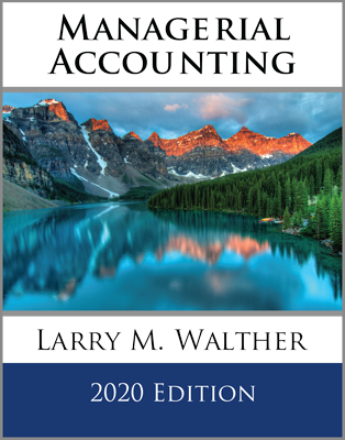 Managerial Accounting Textbook 2020 Edition