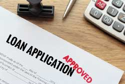 Loan application image