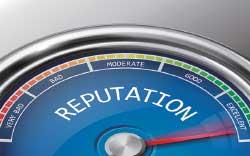 Reputation meter image