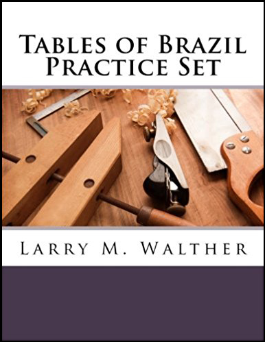 Tables of Brazil Practice Set