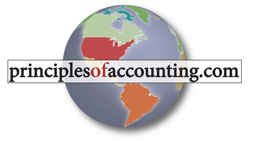 Principles of Accounting globe logo
