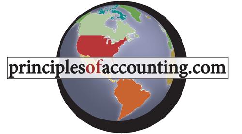 Principles of Accounting globe logo