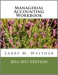 Managerial Accounting Workbook